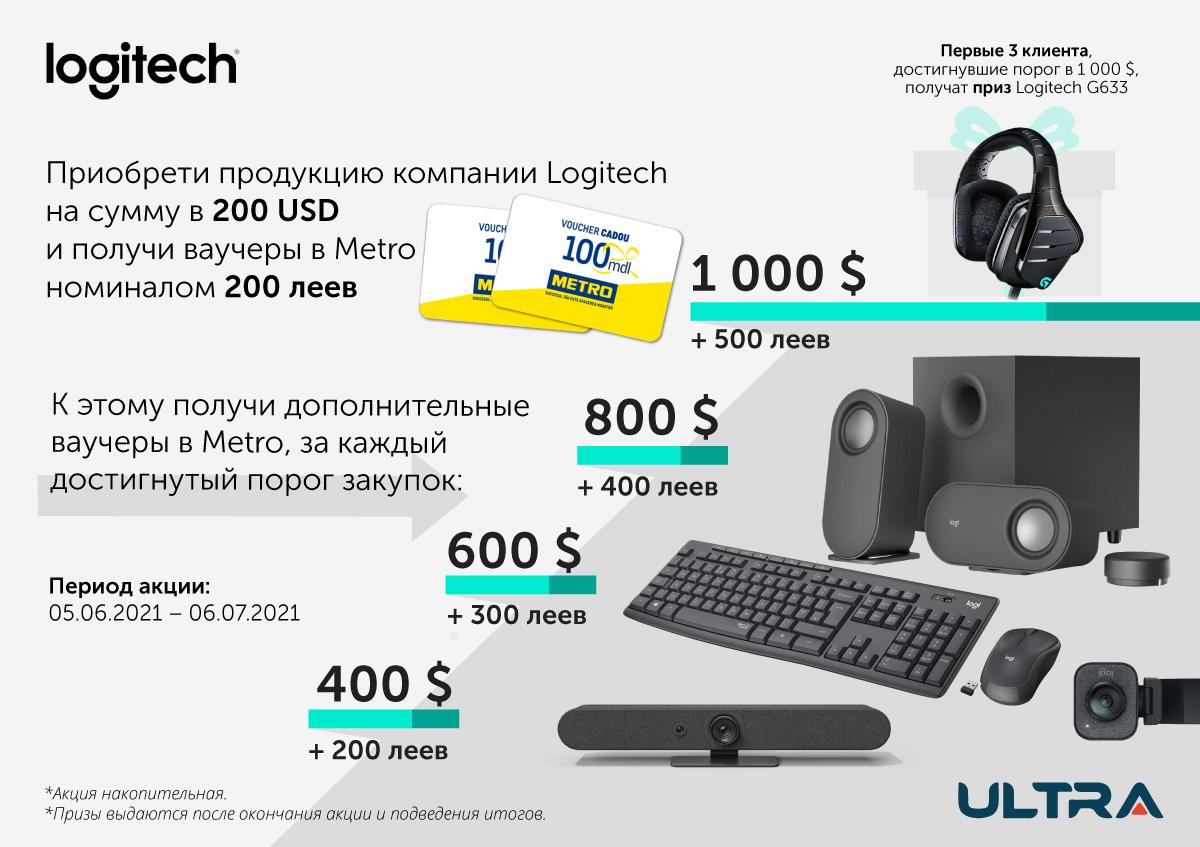 Летняя акция от Logitech